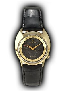 Hamilton SATURN vintage watch, 1960 Old Watches, Vintage Watches, Watches For Men, Hamilton Khaki Navy, Hamilton Jazzmaster, Brooklyn Style, Awesome Watches, Skeleton Watches, Dashboards