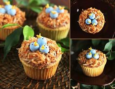 Bird's Nest Cupcakes Praktic Ideas