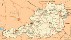 Carte Autriche - Plan Autriche