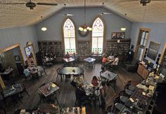 Cathedral Cafe, Fayetteville, West Virginia.