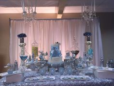 Chic Baby Boy Baby Shower Party Ideas | Photo 2 of 6 | Catch My Party