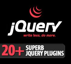 20+ superb jQuery plugins for web designers and developers.