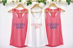 Bachelorette Party Tank, Future Mrs, Bachelorette Party Shirt, Funny Bachelorette,Bachelorette Tank, Bride Tank,Bridesmaid Tank,Bridal Party  #bachelorette #bachelorettetanks #partytanks #futuremrs #tanktops  #etsyfinds #jacknroy Bridesmaid Tanks, Future Mrs, Funny Christmas Shirts, Bachelorette Party Shirts, Cool T Shirts, Athletic Tank Tops, Fashion Outfits, Clothes For Women, Trending Outfits