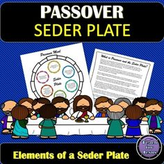 Passover and the Seder Plate Queen Esther Bible, Passover Seder Plate, Silly Words, Jesus Sacrifice, Silly Sentences, Christian Missionary, Kids Cuts, Armor Of God, Christian School
