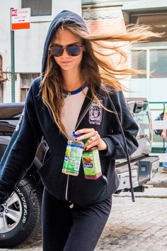The Styled-by-the-Breeze Hair Phenomenon: Cara Delevingne, Caroline de Maigret…