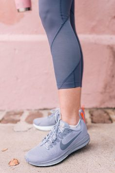 Gal Meets Glam My New Plan For Sticking To A Consistent Workout -  Nike Jacket, Top, Pants & Sneakers #sponsored