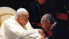 Pope Francis clears John Paul II for sainthood  Pope Francis on Friday cleared Pope John Paul II for sainthood, approving a miracle attributed to his intercession and setting up a remarkable dual canonization along with another beloved pope, John XXIII.  In a major demonstration of his papal authority, Francis decided to make John XXIII a saint even though the Vatican hasn't confirmed a second miracle attributed to his intercession.