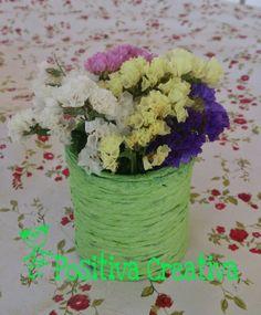 POSITIVA CREATIVA: Como hacer un jarrón de primavera paso a paso
