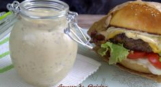Home made burger sauce: the very best HOME BURGER SAUCE tablespoons fried onion, four to five tablespoons mayonnaise, 2 tablespoons ketchup, 2 tablespoons mustard, … Cooking Sauces, Cooking Recipes, Healthy Eating Tips, Healthy Recipes, Ketchup, Mayonnaise, Cuisine Diverse, Marinade Sauce, Snacks
