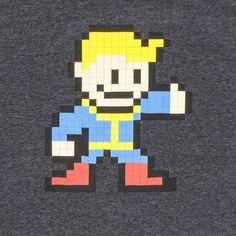 Fallout Vault Boy 8 Bit