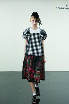 [No.10/87] tricot COMME des GARÇONS 2014春夏コレクション   Fashionsnap.com