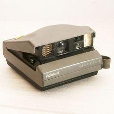 Vintage Camera Polaroid Spectra 2 Instant Film Camera by BrassLens, $12.00