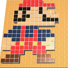 Fun #retrogaming tribute made in Morphi by @ashley.pavlovic of Chain Bridge Forge - an #8bit 3d model of Mario. We love seeing new uses for Morphi by our creative users! #3dprinting