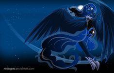 princess luna x king sombra deviantart   Princess Luna Walpaper by Mistiqarts
