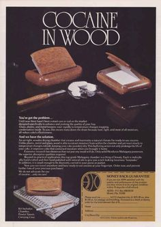 """In June 1971, Nixon declared a war on drugs. He said that drug abuse was """"public enemy number one in the United States"""". Which is right where all of these ads were published."""