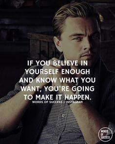 """@sweatydollar | Believe in yourself and have faith!"""