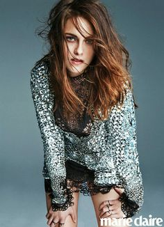 """Kristen Stewart Debuts Poetry in Marie Claire: Read """"My Heart Is a Wiffle Ball/Freedom Pole"""""""