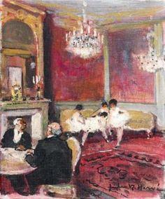 Jules-René Hervé - Les petits salons de l'Opéra