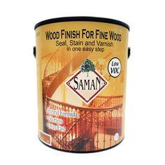 Saman SAM-301-8 Antique Wood Finish Seal, Stain, and Varnish