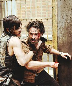 The Walking Dead/Daryl & Rick S4E3