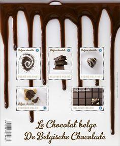 切手: Souvenir Sheet The Belgian Chocolate (ベルギー) (Belgian Chocolate) Mi:BE Chocolate World, Like Chocolate, Chocolate Flavors, Chocolate Dreams, Today Latest News, Belgian Chocolate, Food Stamps, Sell Stamps, Letter Writing