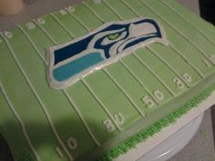 Seattle seahawks cake I want this for my 35 birthday!
