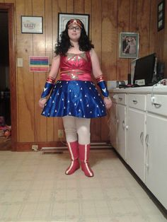 cosplay, plus size, costume, convention, DIY, sewing, comics, Star Trek, Wonder Woman