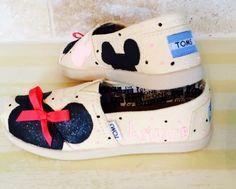 Children's Inspired by Disney custom Toms by CinderellasFairyTale