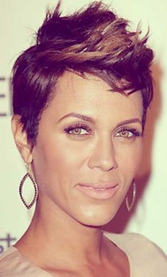 women short hair with faux hawks | Pictures of Short Hair for Black Women | Short Hairstyles 2014 ...