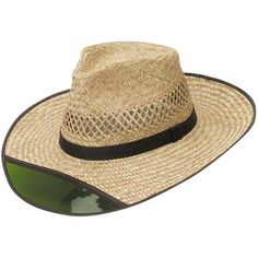 c7cf00ba820 Dorfman Pacific Men s Rush Straw Lightweight Outback Hat with Chin Cord