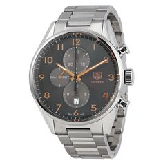 TAG Heuer Carrera Automatic Chronograph Anthracite Dial Men's Watch CAR2013.BA0799