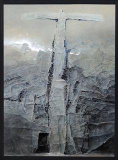 Zdzisław Beksiński – obraz Q1