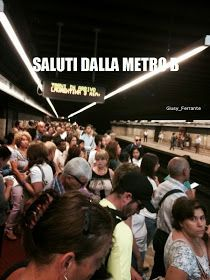 Metro B Roma 1 Settembre 2014