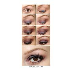 blue-eyeshadow-brown-eyes make up ideas