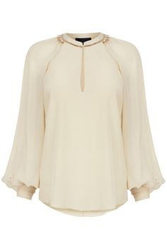 #Bastyan Ellie sheer sleeve embellished top: Was £150 | Now £95 > shop the #SS14 mid-season #sale at bastyan.co.uk