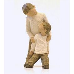"To anyone that buys me presents that looks at my Pinterst stuff, I want this.  Willow statue ""Brothers"""