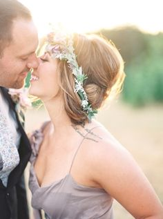 """This styled shoot couple? They're actually a real life duo, and that """"groom"""" had a ring hiding in his pocket the entire timeJulie Paisleywassnappingbehind the camera. He ultimately decided to seal the deal a few days later, but that just made"""
