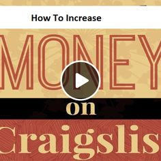 How To Increase Sells Using Craigslist? Branding Your Business, Brand You, How To Make Money, Audio, Thankful, This Or That Questions, Feelings, Free