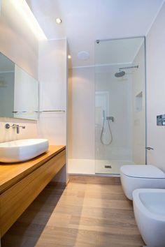 Bathroom Goals, Bathroom Layout, Small Bathroom, Bad Inspiration, Bathroom Inspiration, Modern Bathroom Design, Bathroom Interior Design, Bathroom Flooring, New Homes
