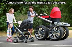 Manly dads…