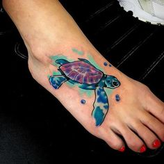 62 Turtle Tattoos For Women That Depict Beauty And Peace