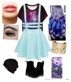 Untitled #20 by bvb-aubrey on Polyvore featuring polyvore fashion style Dr. Martens Lanvin UGG Australia LASplash clothing