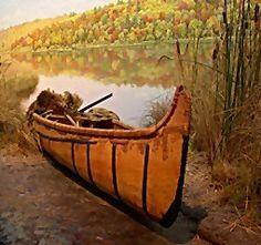 birch bark canoe - Google Search