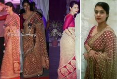 Top Indian fashion and lifestyle blog: Women in Saris at Sonakshi Sinha's brother's reception