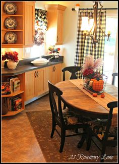 red and black french country kitchens designs | After all, the kitchen is the heart of our home!