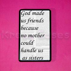 Kindle Fire Case -Best Friend Quote print kindle
