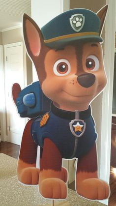 Paw patrol decorations: Hey, I found this really awesome Etsy listing at https://www.etsy.com/listing/182982774/paw-patrol-party-decorations