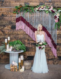 Must See Geometric Backdrops // Engaged and Inspired