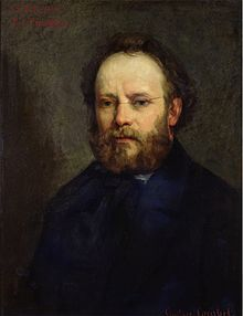 """Pierre-Joseph Proudhon (Besançon, 1809) was a politician, founder of mutualist philosophy and the father of anarchism. He favored workers' associations or co-operatives, as well as individual worker/peasant possession, over private ownership or the nationalization of land and workplaces. He considered social revolution to be achievable in a peaceful manner. In The Confessions of a Revolutionary Proudhon asserted that, """"Anarchy is Order Without Power"""""""