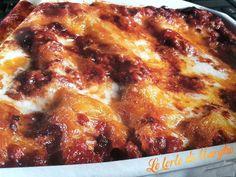 Lasagne ricche al ragù, sono l'ideale per chi ha poco tempo, ma non vuole rinunciare a preparare pietenze d'effetto per gli ospiti; potete infatti cucinare